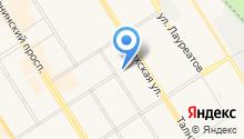 Илан-Норильск на карте