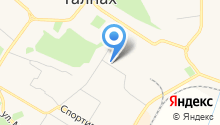 Башмакофф на карте