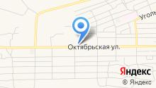 Магазин цветов и игрушек на Октябрьской на карте