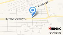 Петровский на карте