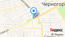 Отдел вневедомственной охраны МВД по Республике Хакасия в г. Черногорске на карте
