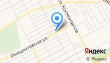 Татарский на карте