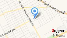 Магазин продуктов на проспекте Космонавтов на карте