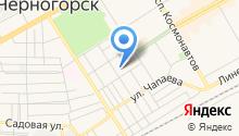 Управление Пенсионного фонда РФ г. Черногорска на карте