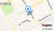 Сервис-Лайн на карте