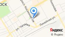 Магазин цветов на проспекте Космонавтов на карте