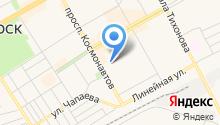 Саянская Строительная Железнодорожная Компания на карте