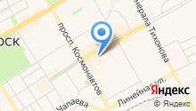 Магазин продуктов на Юбилейной на карте