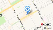 Сервисная служба на карте
