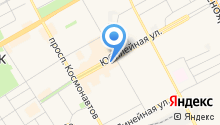 Бретелька на карте