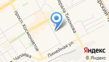 Хакасский муниципальный банк на карте