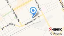 АЯН на карте