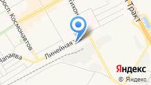 АЗС Восточная на карте