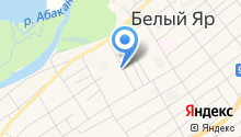 Сибирская губерния на карте