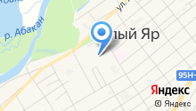 Белоярская средняя общеобразовательная школа на карте