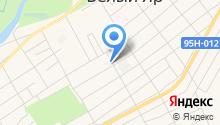 Белоярский РЭС на карте