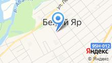 Белоярская центральная районная больница на карте