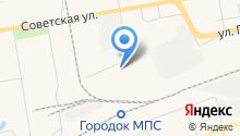 SBM на карте