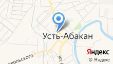 ЗАГС Усть-Абаканского района на карте