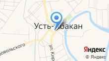 Мировые судьи Усть-Абаканского района на карте