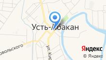 Александро-Невский приход Абакано-Кызыльской епархии на карте