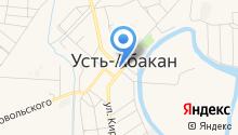 Александро-Невский приход Абакан-Хакасской епархии на карте