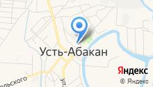 Усть-Абаканская музыкальная школа на карте