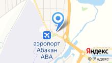 Раздолье, магазин продуктов на карте