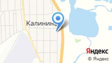 Администрация Калининского сельсовета на карте