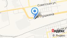 СКС-сервис на карте