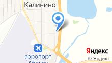 Баня на ул. Ленина на карте