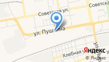 Бош Автосервис Абакан на карте