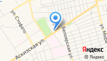 АЗК Роснефть на карте