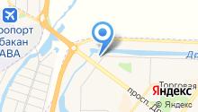 Автостоянка на ул. Северный проезд на карте