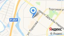 АвтоПодкова на карте