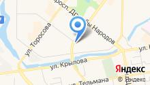 Юрта на карте
