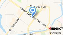 Mascotte на карте