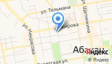 Urban на карте