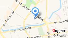 BeatyFit на карте