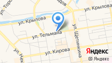 Аккумуляторные центры Медведь на карте