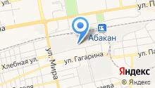 Центр авторазбора на Хлебной на карте