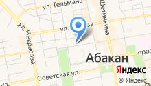 SAYAN на карте