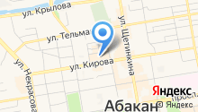 OtchetOnline Абакан на карте