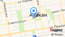 Абакан сегодня на карте