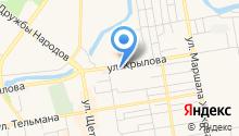 UniSon на карте