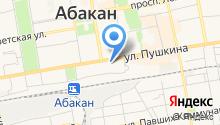 DANZA на карте