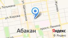 Юридический кабинет Егорова Ю.С. на карте