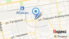 АбаканАвтоШина на карте