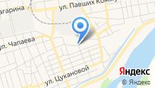Центр авторазбора на ул. 8 Марта на карте