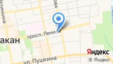 Ингвис на карте